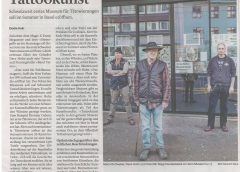30.01.2021 Basel – Tattoo Museum In the news | In den Nachrichten | Dans l'actualité