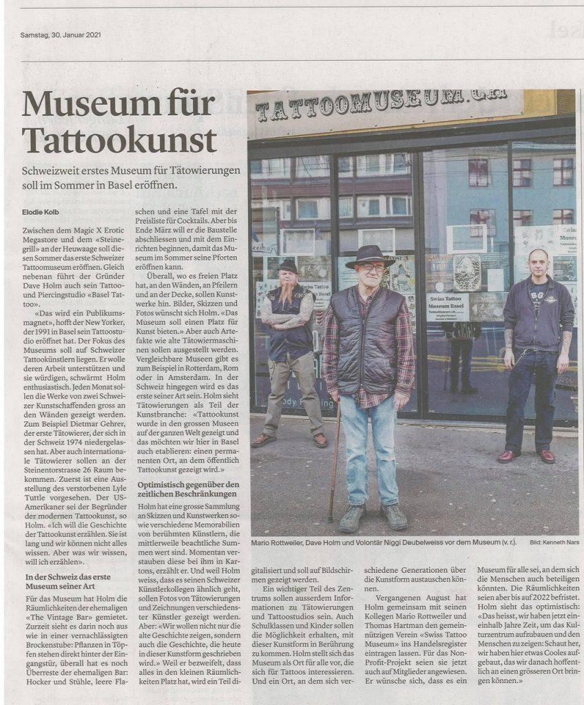 Swiss Tattoo Museum Basel