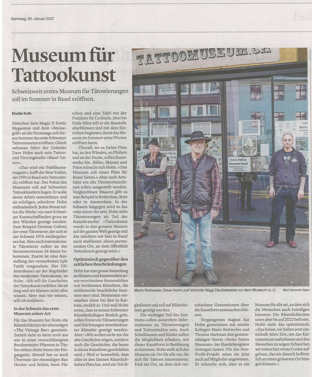 Swiss Tattoo Museum Basel
